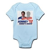 Anti-Romney Shadow Infant Bodysuit