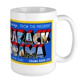 Greetings from the President Large Mug