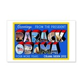 Greetings from the President 20x12 Wall Decal