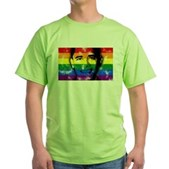 LGBT for Obama Green T-Shirt
