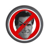 No Mitt Wall Clock