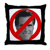 No Mitt Throw Pillow