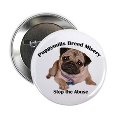 Stop Puppymill Abuse Awareness Button