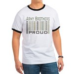 Military Army Brothers Proud Ringer T
