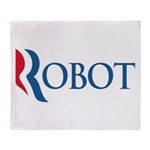 Anti-Romney ROBOT Stadium Blanket