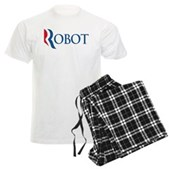 Anti-Romney ROBOT Men's Light Pajamas