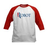 Anti-Romney ROBOT Kids Baseball Jersey