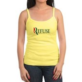 Anti-Romney Refuse Jr. Spaghetti Tank