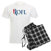 Anti-Romney ROFL Men's Light Pajamas