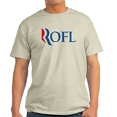 Anti-Romney ROFL Light T-Shirt