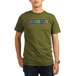 Soccer made of Elements Colors Organic Men's T-Shirt (dark)