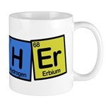 Teacher made of Elements whimsy Mug