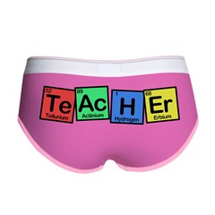 Teacher made of Elements whimsy Women's Boy Brief