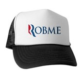 Anti-Romney Robme Trucker Hat