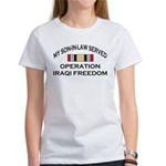 My Son-in-law Served - OIF Ri Women's T-Shirt