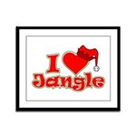 I Heart Jangle Framed Panel Print