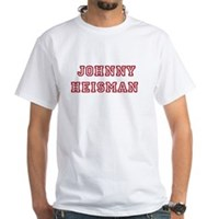 Johnny Heisman White T-Shirt