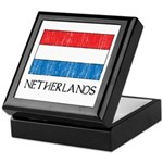 Netherlands Flag Keepsake Box