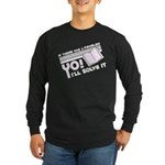 Yo! I'll Solve It Long Sleeve Dark T-Shirt