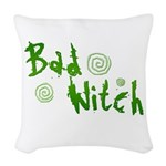 Bad Witch Woven Throw Pillow
