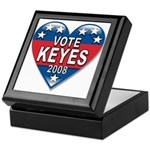 Vote Alan Keyes 2008 Political Keepsake Box