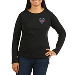 Vote Alan Keyes 2008 Political Women's Long Sleeve