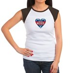 Vote Alan Keyes 2008 Political Women's Cap Sleeve