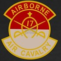 17th Air Cavalry 1st S Women's V-Neck Dark T-Shirt