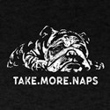 Napping Bulldog T-Shirt