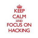 Keep calm and focus on Hacking T-Shirt