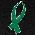Awareness Ribbon (Green) T-Shirt