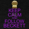 Keep Calm Follow Beckett T-Shirt