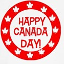 Happy Canada Day  (Red T-Shirt