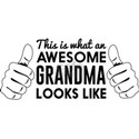 This is what an awesome grandma looks like T-Shirt