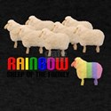 Rainbow Sheep Dark T-Shirt