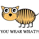 YOU WEAR WHAT TIGER White T-Shirt