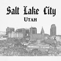Salt Lake City Baseball Tee