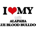 I love my Alapaha Blue Blood Bulldogs T-Shirt