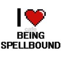 I love Being Spellbound Digitial Design T-Shirt