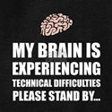 Brain Technical Difficulties Hoodie