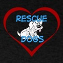 IHeart Rescue Dogs T-Shirt