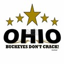 Ohio Buckeyes Don't Crack T-Shirt