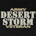 DESERT STORM ARMY VETERAN! Dark T-Shirt