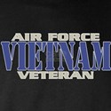 VIETNAM AIR FORCE VETERAN! Long Sleeve Dark T-Shir