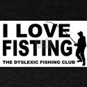 I LOVE FISTING funny fishing dyslexia T-Shirt