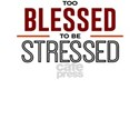 Too Blessed To Be Stressed Top T-Shirt