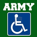 Army Handicapped Disabled T-Shirt