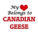 My heart belongs to Canadian Geese T-Shirt