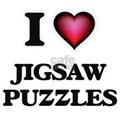 I Love Jigsaw Puzzles T-Shirt