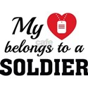 Heart Belongs Soldier Tee